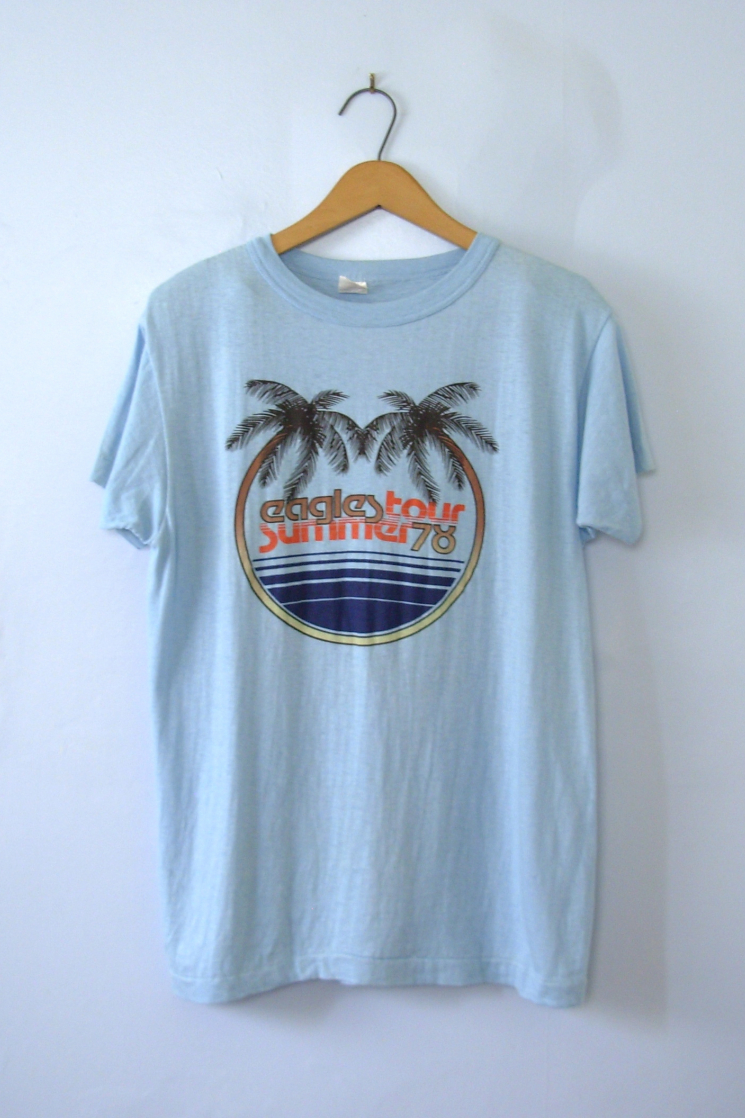 the eagles band t shirts vintage
