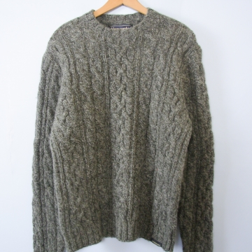 Vintage 90's Abercrombie and Fitch wool sweater, men's size medium