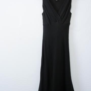 90's Express silk black mini dress, women's small / xs