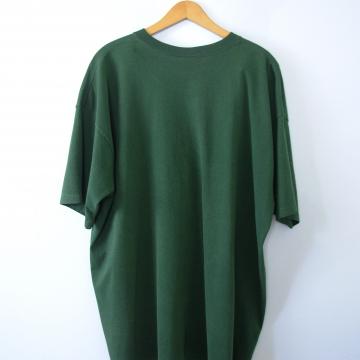 Vintage 90's graphic tee, Waif Community Radio Cincinnati Ohio green shirt, size XL