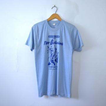 Vintage 70's rare New Barbarians shirt concert band tee, size medium