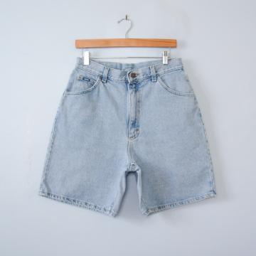 80's Lee high waisted denim shorts, women's size 12 / 14