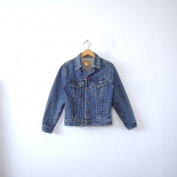 Vintage 90's denim jacket, GAP jean jacket, youth size 16 / women's small