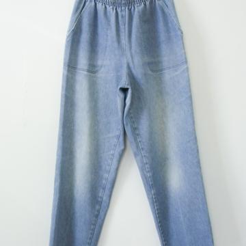 80's high waisted jeans with elastic waistband, women's size medium