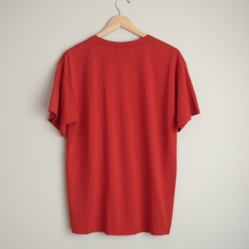 Vintage 90's Wrangler denim shirt with snap buttons, chambray button up, size XL