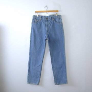 Vintage 80's Levi's 509 jeans, straight leg blue denim jeans, men's size 38