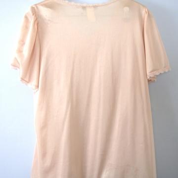 Vintage 90's denim shirt, chambray button up shirt, size XL
