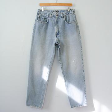 90's GAP distressed light denim jeans, men's size 32