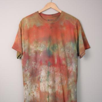 Y2K tie dye tee shirt, size large