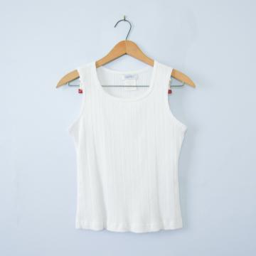 90's Esprit white tank top, women's size medium / small