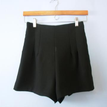 Vintage 90's high waisted black shorts, size 6 / 7