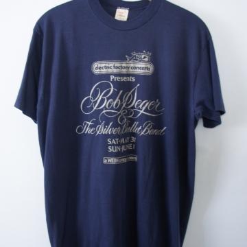 Vintage 70's Bob Seger band tee shirt, men's size XL / large