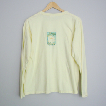 90's dragonfly long sleeved shirt, women's size large