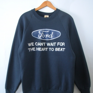 Vintage 80's Ford truck sweatshirt, men's size large