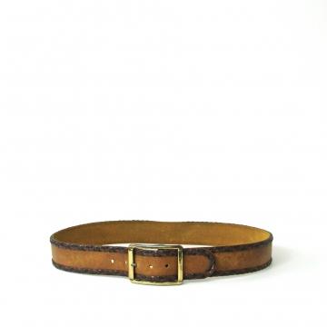 Vintage 90's Levi's tan brown leather belt, size 36 / medium