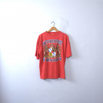 Vintage 90's Octoberfest graphic tee, München Germany shirt, size large