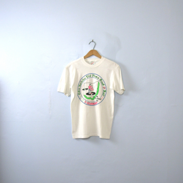 Vintage 90's graphic tee, Ohio state fair shirt, size small